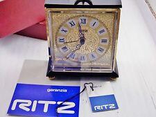 orologio sveglia da tavolo RITZ manuale anni '70