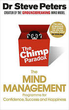 THE CHIMP PARADOX MIND MANAGEMENT by PROF STEVE PETERS 2015 BOOK NEW SELF HELP
