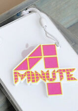 NEW Cute Korean Kpop Band 4MINUTE Cellphone Dust Plug Cover Charm Hyuna Sohyun
