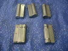 Vintage Lot of 5  Chrome Lighter, Made in Austria Opal by Champ & Nano and 3 JR.
