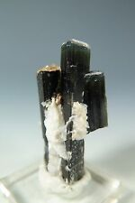 BLUE CAP AND GREEN IN TOURMALINE TRIPLETFROM STAK NALA NORTHERN  PAKISTAN Y157