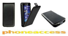 Housse Etui Coque (SLIM Cuir Noir) Sony Ericsson Xperia ion (LT28i LT28at LT28h)
