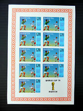 BARBUDA Wholesale 1974 Football WM '74 $1.2 x 10 SEE BELOW...SALE PRICE FP2579