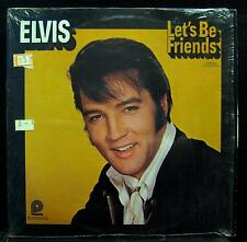 ELVIS PRESLEY let's be friends LP Mint- CAS-2408 Vinyl  Record