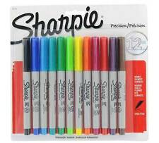 Sharpie Ultra Fine Permanent Marker Pens Assorted 12 Pack
