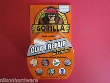 Gorilla Clear Repair Tape Vinyl Patch Inflatable Underwater Wet Dry Surface Pool