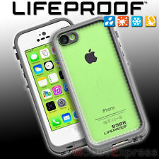 GENUINE Lifeproof Fre Shock - Waterproof Case For Apple iPhone 5C White / Clear
