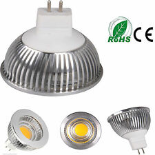 MR16 GU5.3 LED COB Light 5W High power energy Bulb AC DC 12V Warm White Lamp