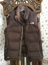 Women's North Face 700 Insulated Vest in Chocolate Brown - Size M