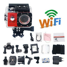 Full HD 1080P WiFi Waterproof Sports Action Camera Travel Helmet Video Camcorder
