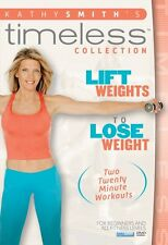 LIFT WEIGHTS TO LOSE WEIGHT (Kathy Smith) - DVD - Region Free