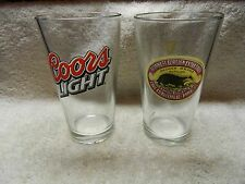GUINNESS FOREIGN EXTRA STOUT  Badger Glass & Coors Light Glass...12 oz