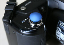 Lolumina 13mm Blue Soft Shutter Release Button for Fujifilm X-T1 Sony A7 Lexica