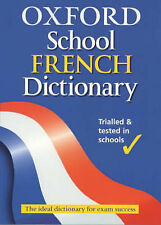 Oxford School French Dictionary,ACCEPTABLE Book