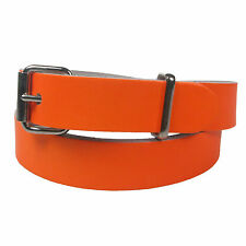 New Genuine Skinny Thin Fashion Waist Ladies Womens Leather Belt Made in the UK