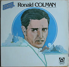 "RONALD COLMAN ""ORIGINAL RADIO BROADCAST""  33T  LP"