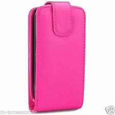 PINK FLIP CASE POUCH COVER FOR SAMSUNG S3350 CHAT 335