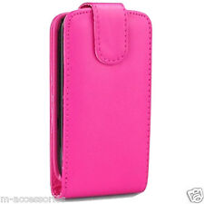 PINK FLIP CUSTODIA COVER PER SAMSUNG S3350 CHAT 335
