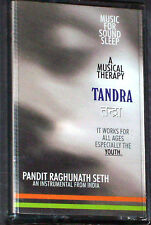 RAGHUNATH SETH TANDRA MUSIC FOR SOUND SLEEP CASSETTE ALBUM INDIAN ESP. FOR YOUTH