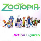 New Set of 12Pcs Dinsey Zootopia Judy Hopps Nick Wilde Movie Character Figures