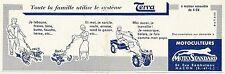 W5133 Motocoltivatori TERRA - MotoStandard - Pubblicità 1961 - Advertising