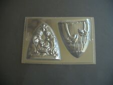 2 ON 1 NATIVITY SCENE CHOCOLATE MOULD/MOULDS/CHRISTMAS/XMAS/MARY/JOSEPH/JESUS