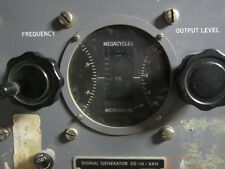 US Military SG-1A Aviation Signal Generator 88 - 140 Mhz + PP-348 Power Supply