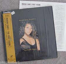 Mariah CAREY - The First Vision  JAPAN  Edition Laserdisc CSLM796 with OBI