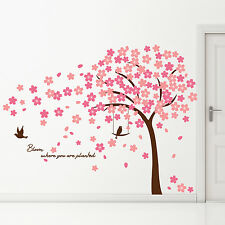 Autocollant Arbre Décoration Home Wall Stickers Mural Cherry Blossom 310cm x 180 cm