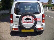 Sticker for SUZUKI Jimny 4x4 Offroad rear wheel cover or Car rino chrome light