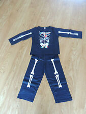 Brand new halloween costume/hiver glow in the dark age 3-4 ans pyjama