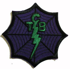 TAKING CARE OF BUSINESS TCB EMBROIDERED PATCH 1%r outlaw biker tcb vest cut