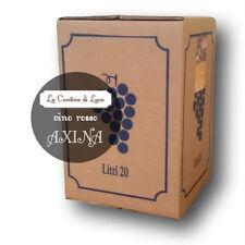 Vino Rosso Axina Bag in Box lt.20 - Vini Sfusi Sardegna -