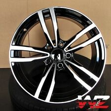 19 inch M Style Wheels Black Machined  Fits BMW 1 2 3 4 Series 328 330 335 M3