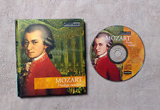 "CD AUDIO/ MOZART ""MUSICAL MASTERPIECES"" CD ALBUM & BOOK LIVRE N°3 11TK CLASSIQUE"