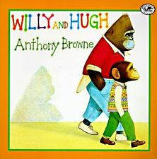 Kids cool paperback:Willy and Hugh-little chimp doesn't fit in? gorilla friend?