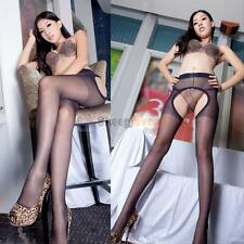 Fashion Sexy Womens Sheer Lace Top Thigh-Highs Stockings Garter Belt Suspender