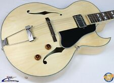 Eastman AR371CE-BD Hollowbody Archtop Electric Guitar w/ HSC Blonde Demo #38284