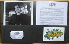 DAVE KELLER BLUES BAND PRESS PACK for his 'FAITH' CD RELEASE (1998)  NM