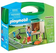 Bunny Barn Case - Imaginative Play Set by Playmobil (9104)