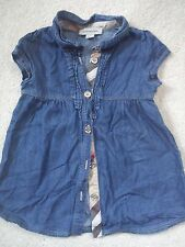 **AMAZING**BURBERRY BABY GIRL DRESS 12 MTHS(0.2)