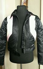 Vintage Guess Jeans racing Jacket Coat Women Size Medium Nice!