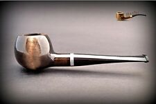 HAND MADE WOODEN TOBACCO SMOKING PIPE  no 33  Black    Pear