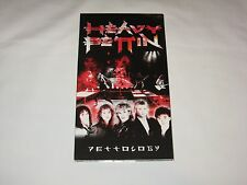 Heavy Pettin - Pettology box set 3 CD + 1 DVD NWOBHM Heavy Metal Rare