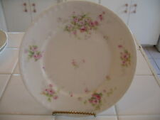 Beautiful Theodore Haviland Limoges France Dessert Bread Butter Plate Pink Roses