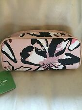 KATE SPADE Cosmetic Bag Berrie Hawthorne Floral Bubbles Pink NWT