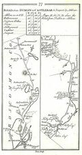 Antique map, Road from Athlone to Castlebar & Newport, by Athlone (1)