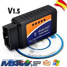 Diagnosis Multimarca para coche v1.5 ELM327 OBDII Bluetooth Android ODB2 ELM 327