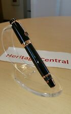 Montblanc Boheme Marron Rose Gold Fountain Pen NEW! HARD to find color! L@@K!!