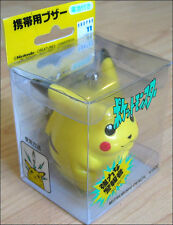 Pokemon Vintage Pikachu Security Buzzer Alarm Keychain Figure Toy DISCONTINUED!!